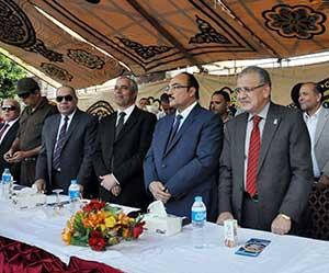 جامعة بنها تشارك في احتفالات العيد القومي لمحافظة القليوبية
