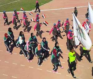 رئيس جامعة بنها يشارك فى إفتتاح فعاليات أسبوع شباب الفتيات بالمنيا