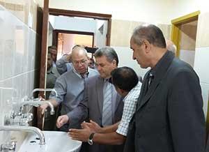 رئيس جامعة بنها يتابع أعمال الصيانة والتجهيزات بالمدينة الجامعية بمشتهر استعدادا للعام الدراسى