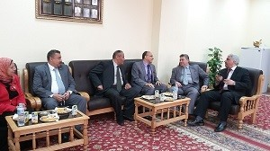 Benha University President inspects Faculty of Education