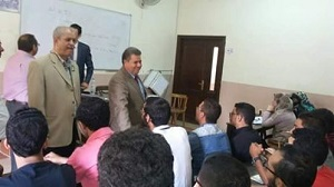 Prof. Dr. El Sayed Yusuf El Kady inspects Faculties of Veterinary Medicine and Agriculture