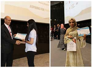 Benha university delegation participates in a ceremony to honor the top students in Jordon