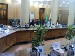 Le Conseil de l'Université de Benha discute comment se préparer pour la nouvelle année universitaire.