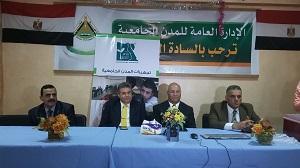Le président de l'Université de Benha suit les travaux du développement aux villes universitaires qui sont soutenus par l'établissement « d'Égypte Bien »