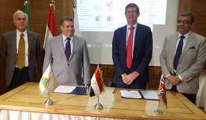 Cooperation agreement between Benha University and Surrey University in UK