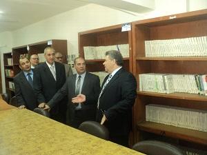 Accord de coopération scientifique et de recherche entre l'Université Benha, et l'institution générale égyptienne pour les ressources minérales