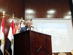 «Building Six Tunnels to transport Five million populations to Sinai» says the President's chancellor of Projects Development