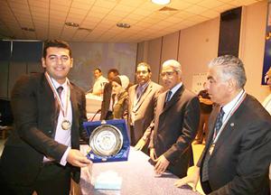جامعة بنها تحصد المركز الثاني في ملتقى طلاب الجامعات العربية