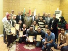 Honoring the Creative Students of Benha University