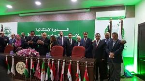 جامعة بنها فى إجتماعات مجلس الجامعات العربية