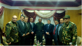 Benha University pays a Visit to the Troops of Public and Military Defense