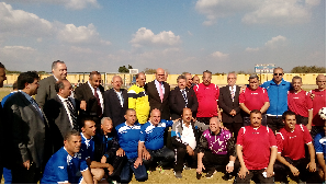 The End of the Faculties' members and employees league in Benha University