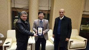 القاضى يبحث التعاون مع جامعة الغابات الصينية