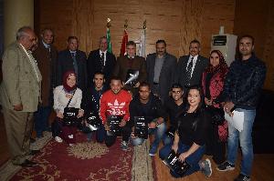 مجلس جامعة بنها يكرم الفائزين بالمسابقة الدولية للبرمجيات بفنلندا