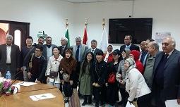 رئيس جامعة بنها يستقبل وفداً طلابياً من جامعة القوميات بشمال الصين
