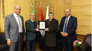 رئيس جامعة بنها : إقامة أول منتدى عربى للتعليم العالى بشراكة مع الأردن
