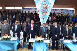 """Our Aims is to achieve the President's vision for the Youth of Egypt"" says the University President in the Inauguration of the Agricultural Round no.39"