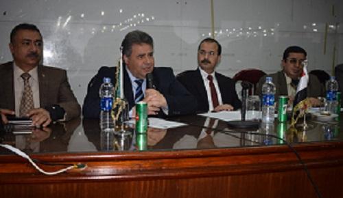 رئيس جامعة بنها يلتقي بمعاوني أعضاء هيئة التدريس لمناقشة محاور تطوير التعليم في مصر