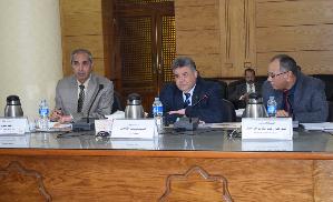Des quatorze administrations de l'Université de Benha sont sur le chemin de l'ISO.