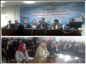 Benha University organizes a Workshop bout the Egyptian Knowledge Bank in the Conference Hall