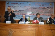 """The union is the right path to safe Egypt"" says the university president"