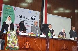 رئيس جامعة بنها خلال مؤتمر التمريض: التعليم والصحة وجهان لعملة التقدم