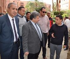 جولة مفاجئة للقاضي في كفر سعد