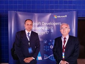 مشاركة جامعة بنها في مؤتمر مايكروسوفت لمطوري البرمجيات 2017 بالجامعة الأمريكية