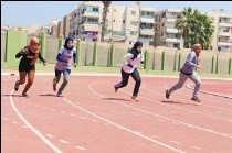 Benha University's competition of athletics