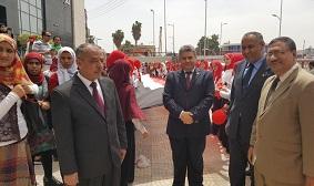 القاضى خلال إفتتاحه لمعرض التربية النوعية :  المصريون مصممون على هزيمة الإرهاب وإستمرار الحياة على أرض مصر