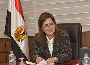 Le plan d'investissement de l'Université de Benha dans une réunion entre le ministre de la planification et le président de l'Université de Benha.