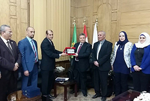 Le renforcement des relations culturelles entre l'Université de Banha et l'Irak