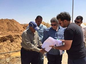 إحتفالاً بذكرى تحرير سيناء: القاضى يتابع إنشاءات جامعة بنها فى العبور ويتفقد المبانى الجديدة فى بنها