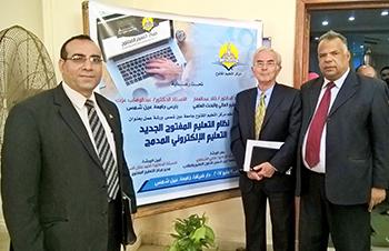 L'Université de Benha participe à un atelier intitulé : Le nouvel enseignement ouvert