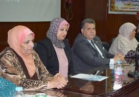 رئيس جامعة بنها يشيد بالممرضة المصرية أثناء الإحتفال باليوم العالمي للتمريض