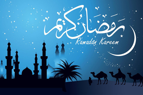 Félicitations pour la bienvenue du mois du Ramadan pour l'année 2017
