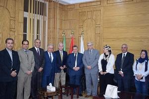 Protocole de coopération entre l'Université de Banha et l'éducation de Qalyubia.