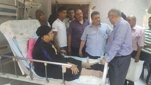 القاضي يقرر يومان حافز للعاملين بمستشفيات الجامعة في عيد الفطر