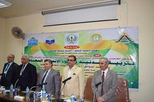 L'éducation civique qui concerne le citoyen et la construction de l'homme moderne à la Conférence de la faculté de l'éducation de l'Université de Benha.