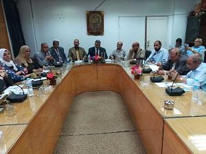 في مجلس طب بيطري بنها: أبو سالم يشدد علي الإلتزام بالحد الأقصي للإشراف علي الرسائل العلمية