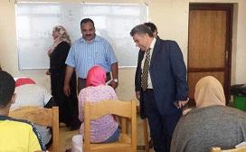 فنون بنها التطبيقية أوفت بوعدها: 50% من حصيلة كتاب القدرات لتحيا مصر والمستشفي التخصصي الجديد