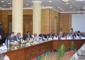 L'intérêt de la publication internationale dans des revues internationales, est l'un des sujets les plus importants dans le Conseil de l'Université de Banha.
