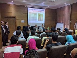 بناء قدرات طلاب جامعة بنها بالتعاون مع مركز الإبداع التكنولوجي بوزارة الإتصالات وتكنولوجيا المعلومات