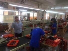 En marge de sa visite actuelle en Chine, le professeur Elsayed Elkaddi visite deux usines pour les appareils ménagers et électriques.