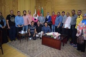 Le président de l'Université : Le développement du processus éducatif et le service de la société sont l'objectif principal de l'Université de Banha.