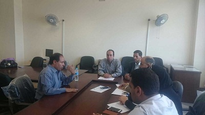 Carrying out the strategic plan of Benha University