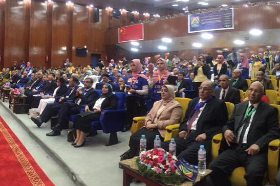 بدايه قويه في جامعة بنها للمؤتمر الصيني المصري الدولي الثاني