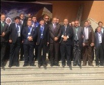 The inauguration of the Benha University exhibition in the Sino-Egyptian conference