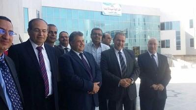 Visite du Comité du secteur de la pharmacie à l'Université Benha