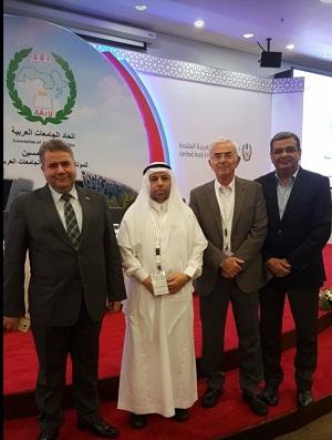 التعاون مع جامعة الملك عبد العزيز بالسعودية